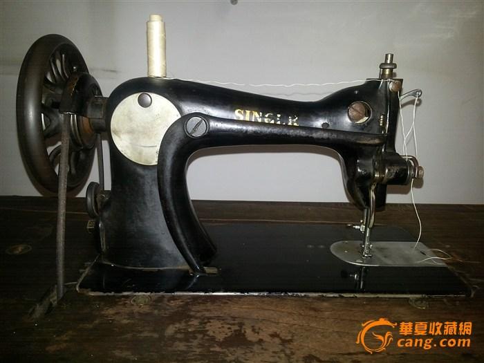 老式胜家缝纫机-图3