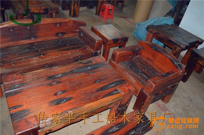 老料船木沙发套装 船木沙发 厚款船木家具批发 船木家具厂