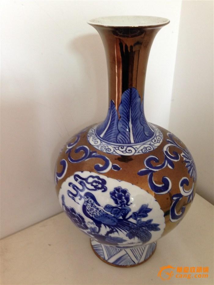 3件青花瓷瓶