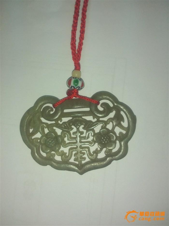 古代玉佩流苏手绘