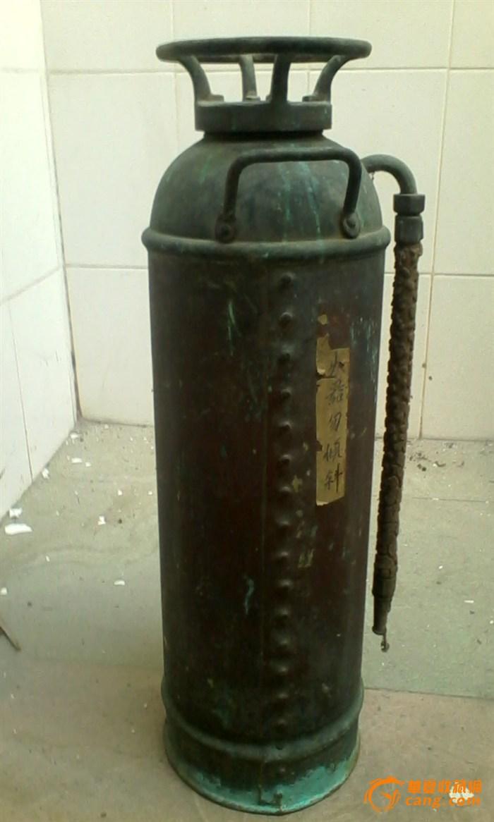 清朝时的铜灭火筒