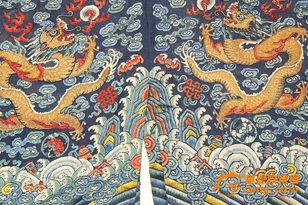 龙袍背景素材图片