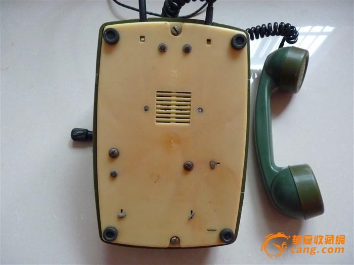 抗日战争时期手摇老式电话机