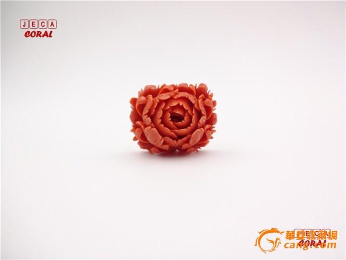 纯日本手工雕刻工艺momo牡丹花