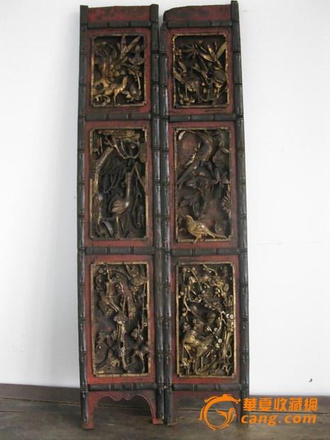 【木雕】木雕中的四季花鸟