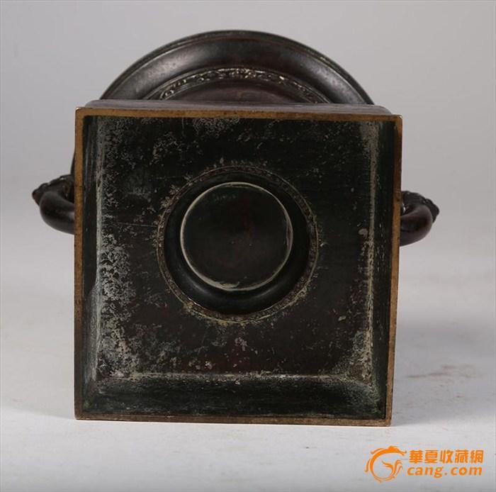 一个清康熙时期铜香炉