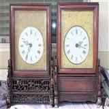 上海第一卖钟人张恒隆南京钟一对