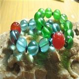 拒马河琉璃珠和出口创汇时期团寿玛瑙珠