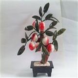 老玉雕—寿桃树(祝寿礼品),看看